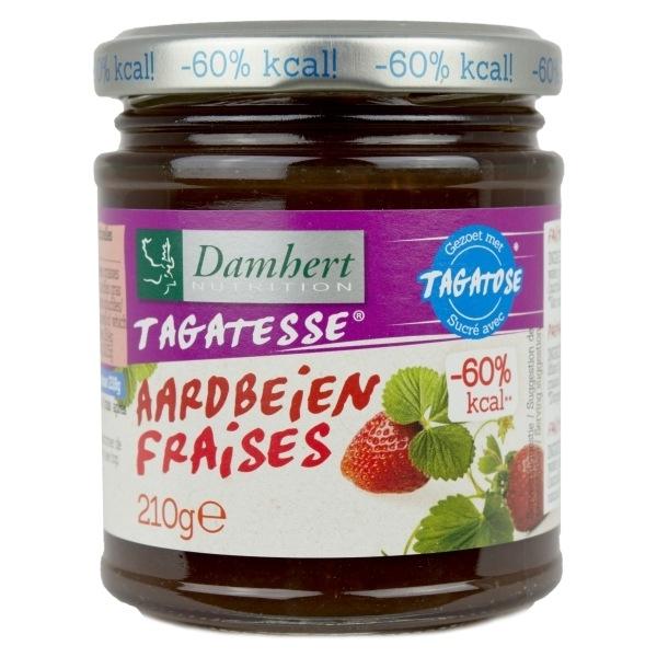 Mermelada Fresas con Tagatosa Damhert
