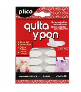 Velcro ultrafino Plico Quita y pon
