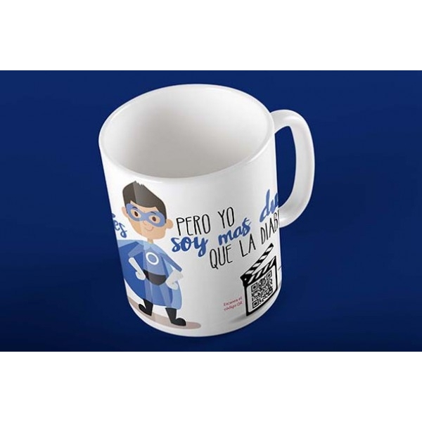 Taza Magic Card Diabetes Superheroe
