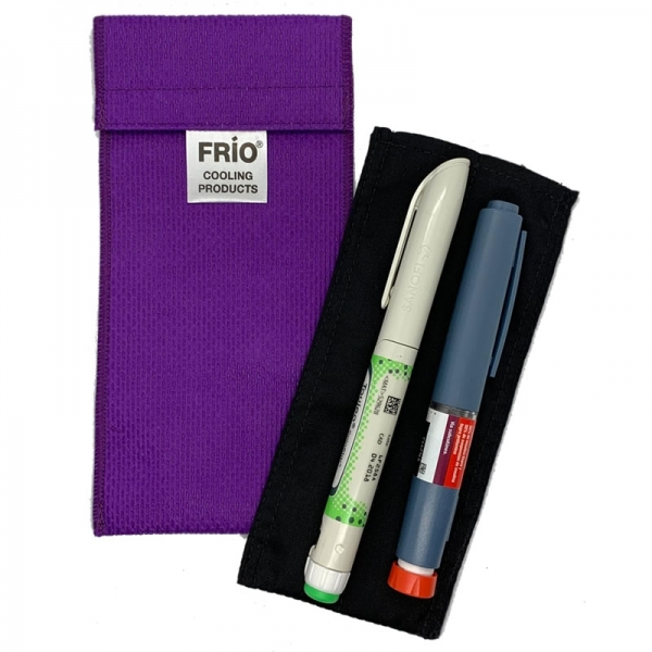 Cartera Frío® Duo Morada (2 canetas)