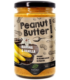 Mantequilla de Cacahuete con Banana y Vainilla  Nature's Finest