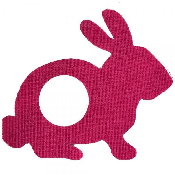 Parche Fantasía Conejo Rosa - Freestyle libre