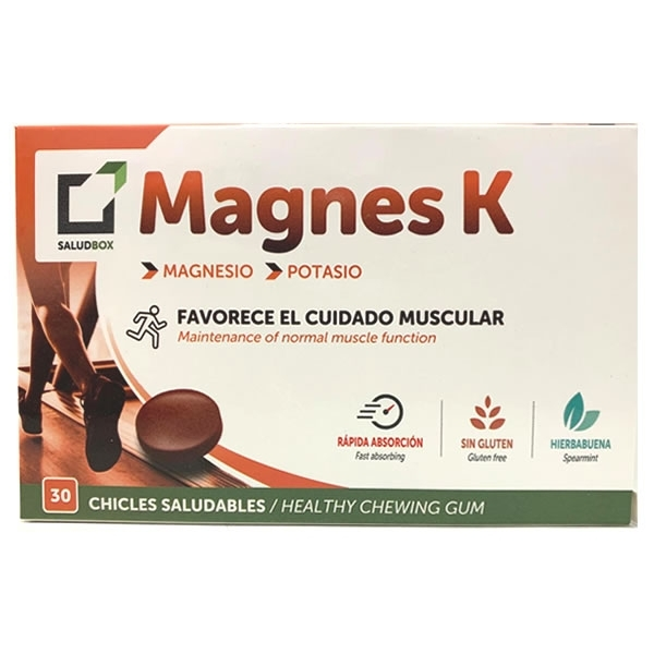 Saludbox Magnes K Chicles 30 unidades