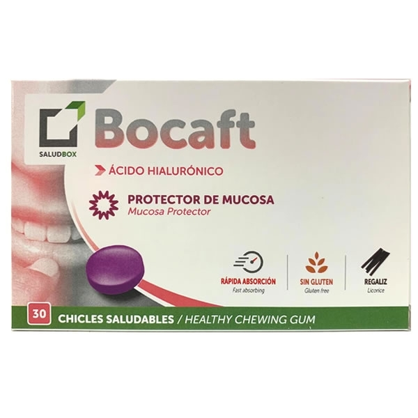 Saludbox Bocaft Chicles 30 unidades