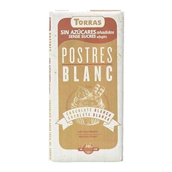 Chocolate  Postres Blanco de Torras