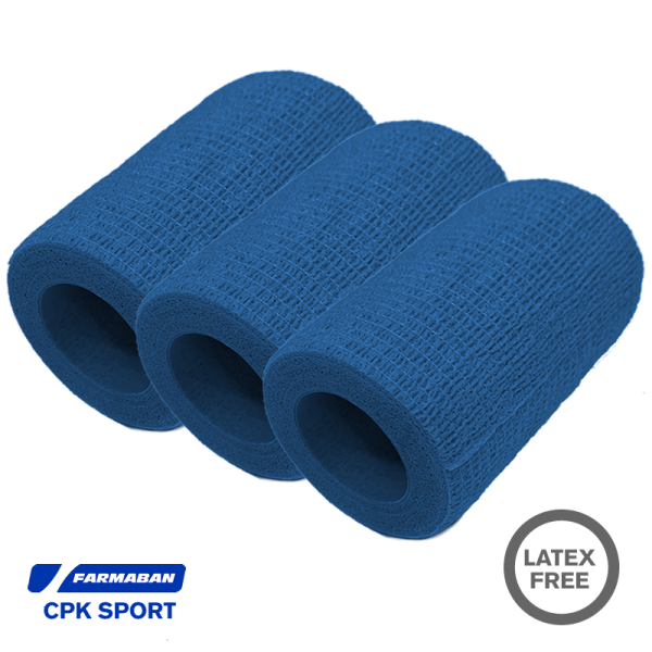 Venda cohesiva Farmaban - Color Azul (x3)
