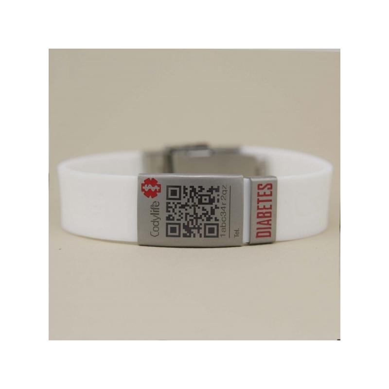 108340cf59f5 Pulsera Codylife Flex Diabetes ...