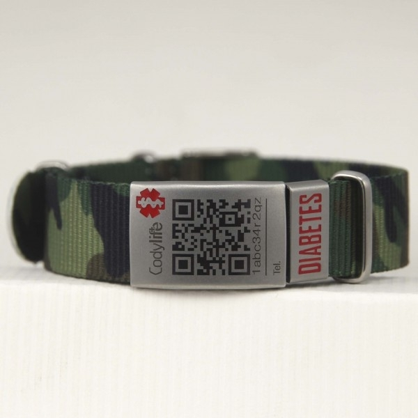 Pulsera Codylife Camo Diabetes