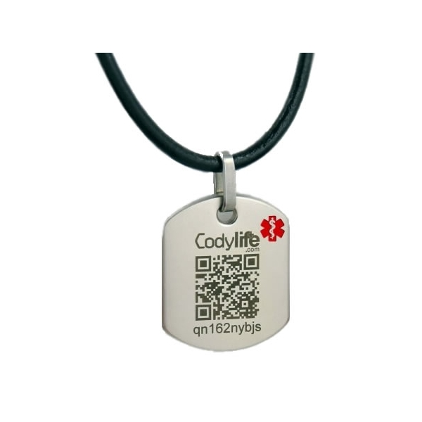 Colgante Codylife Style con código QR