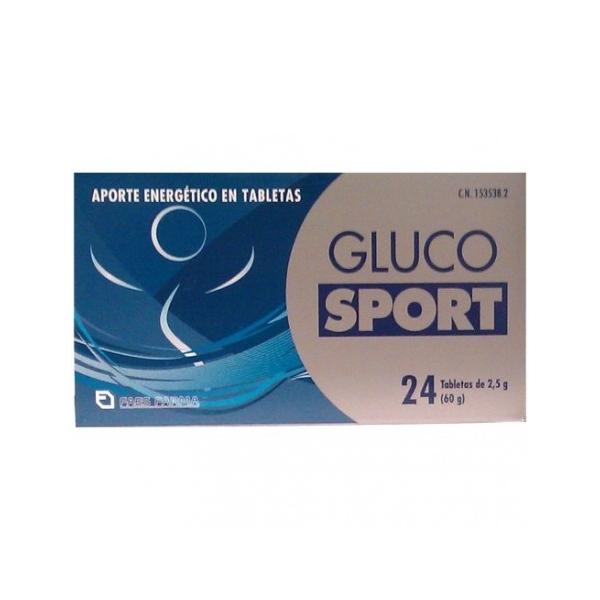 Gluco Sport - Tabletas (24 x 2,5 g glucosa)