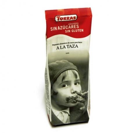 Chocolate a la taza sin azúcar Torras