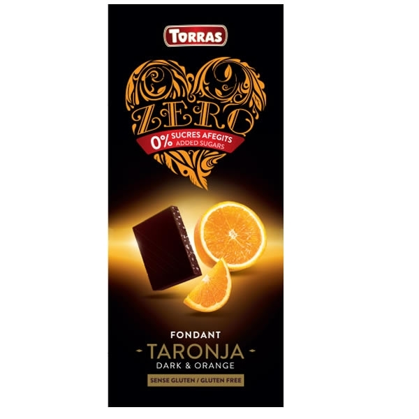 Chocolate Zero Fondant & Naranja