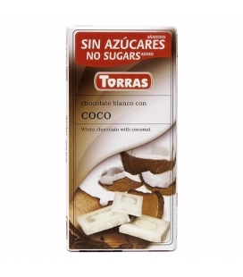 Chocolate Torras Blanco con Coco