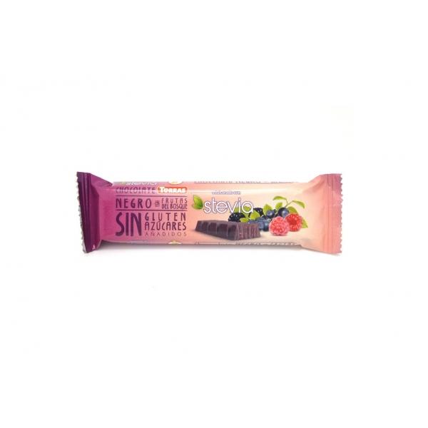 Chocolatina Frutos del Bosque Stevia Torras