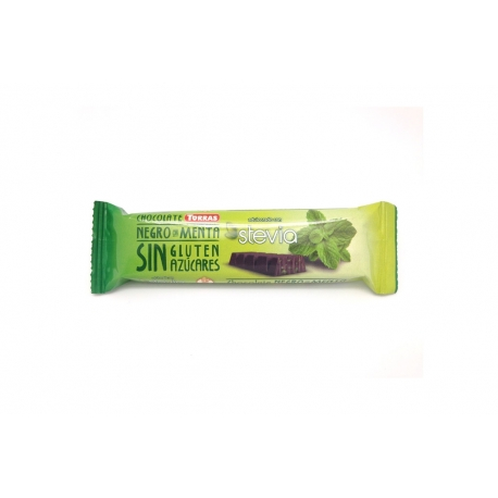 Chocolatina Menta Stevia Torras