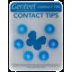 Contact Tip Genteel Azul