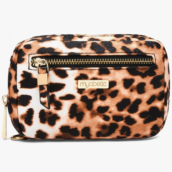 Cartera Glucómetro Myabetic James Leopardo
