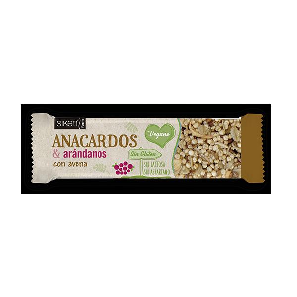 Barrita Siken - Anacardos & Arándanos
