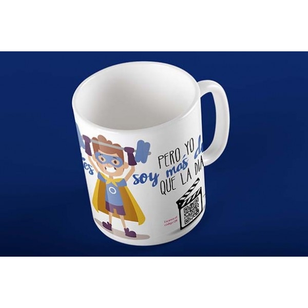 Taza Magic Card Diabetes Niño