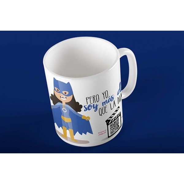 Taza Magic Card Diabetes Superheroina