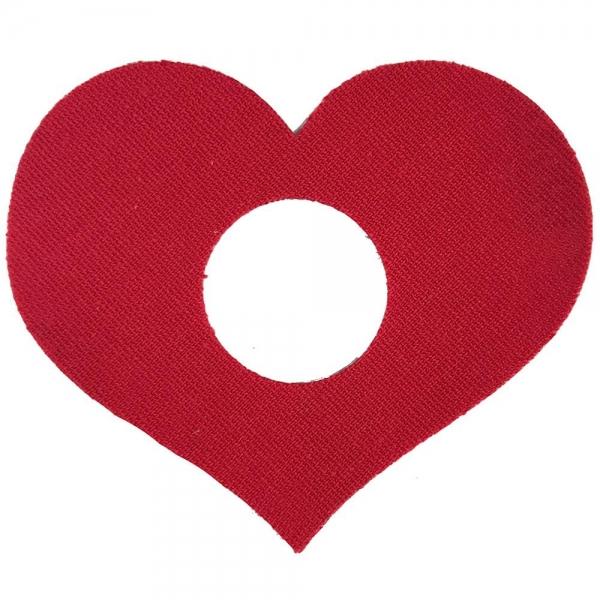 Parche Fantasía Corazón Rojo - Freestyle libre
