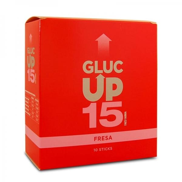 Gluc Up 15 - Fresa (10 sobres)