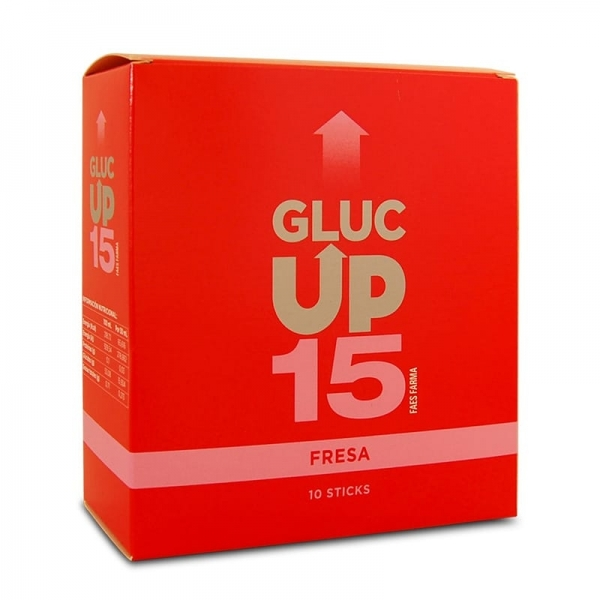 Gluc Up 15 - Limón x3