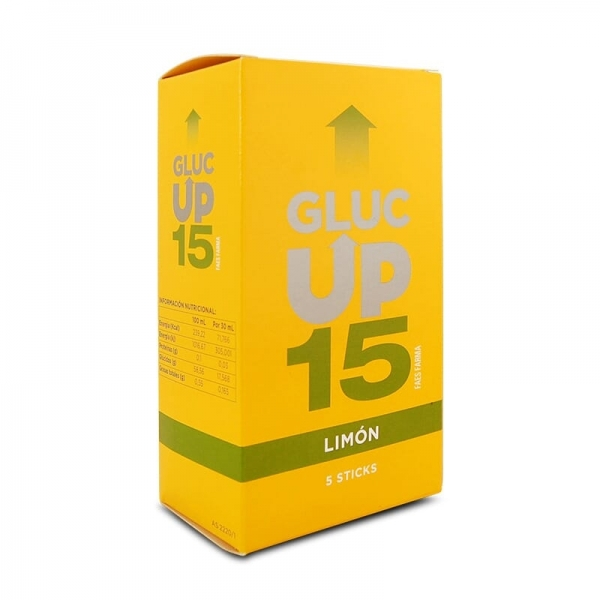 Gluc Up 15 - Limón (5 sobres)