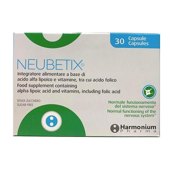 Harmonium Pharma - Neubetix Capsulas