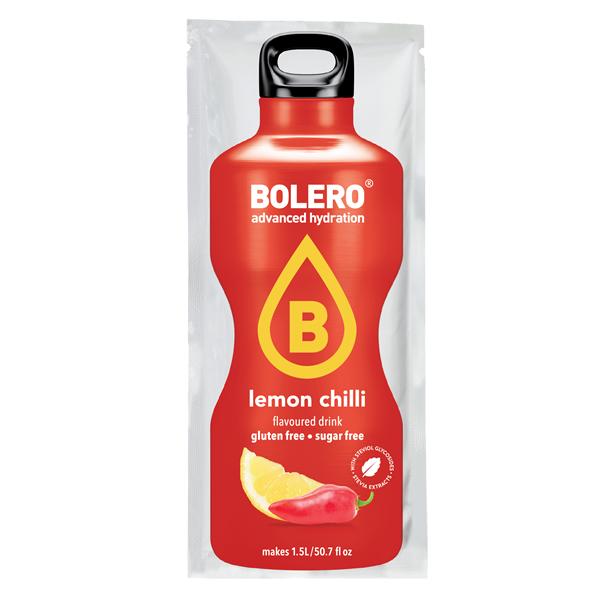 Limão Bolero bebida com sabor de Chilli