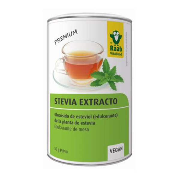 Stevia Extracto de Polvo - Raab