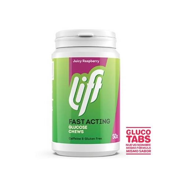 Gluco Tabs XL - Pastillas Glucosa Frambuesa