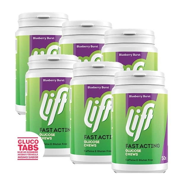 Pack Gluco Tabs XL Limon (x6)