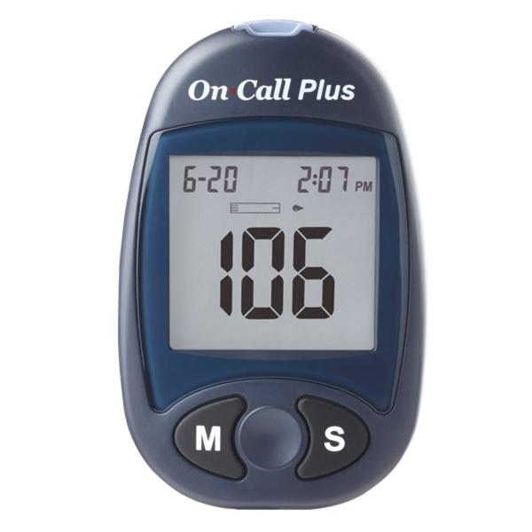 Glucómetro On Call Plus II