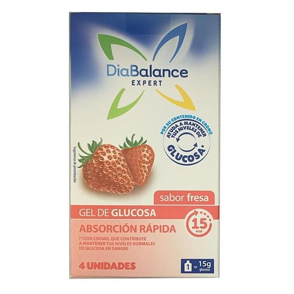 Diabalance Gel Absorcion Rápida Fresa (x4)