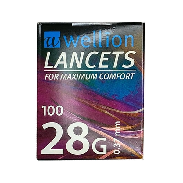 Wellion 28G Lancetas (100 unidades)