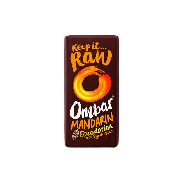 Chocolatina Raw Mandarina - Ombar