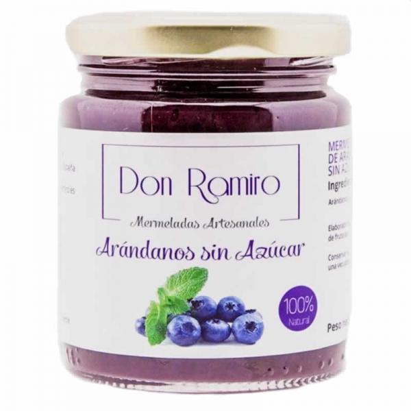 Mermelada Arándanos sin azúcar Don Ramiro