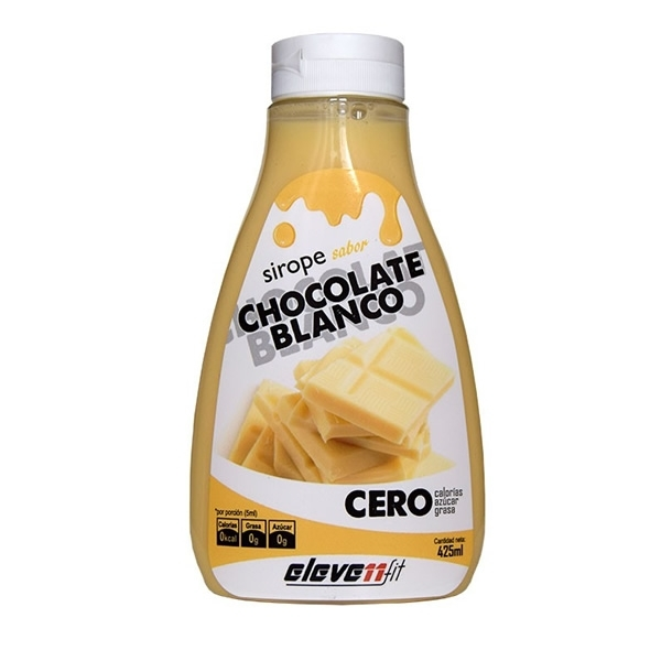 Sirope de Chocolate Blanco Eleve11fit