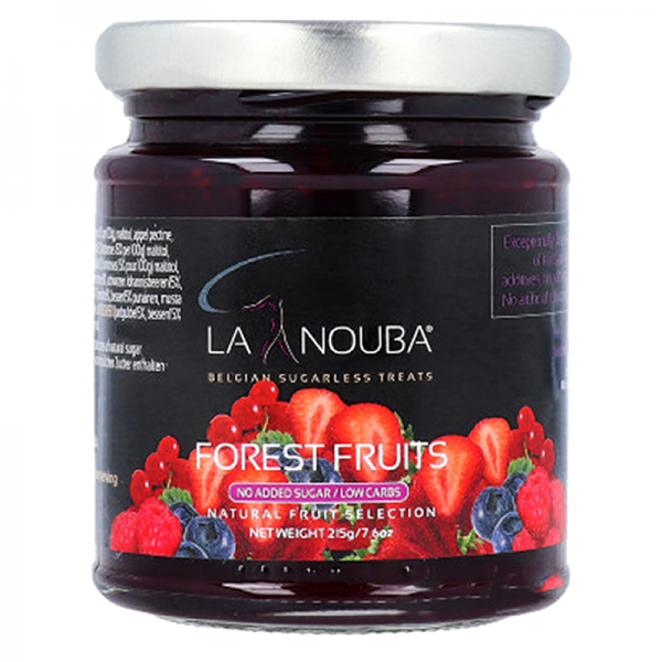 Mermelada Frutos del Bosque sin azúcares LaNouba