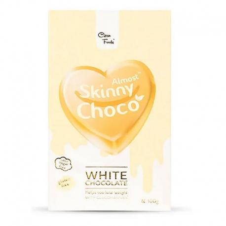 Chocolate Blanco Skinny Choco - Clean Foods