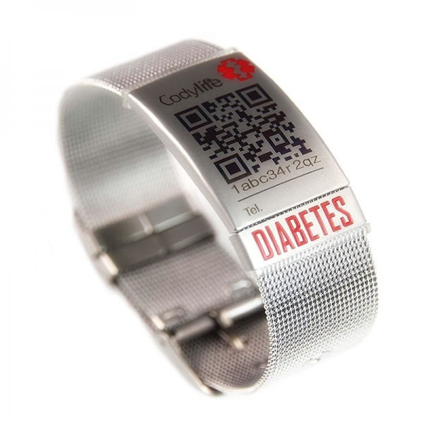 Pulsera Codylife Milanese Diabetes