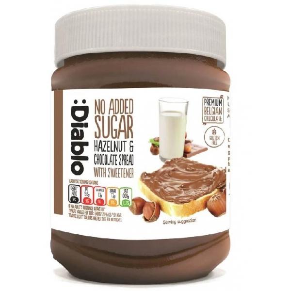 Crema de Avellanas y Chocolate :Diablo