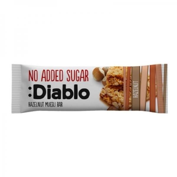 Barrita Muesli de Avellana Sin Azúcar :Diablo