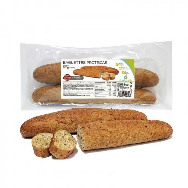 Baguettes Proteicas con Semillas - GoodyFoods