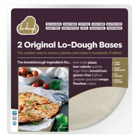 Base de Pizza fina Lo-Dough