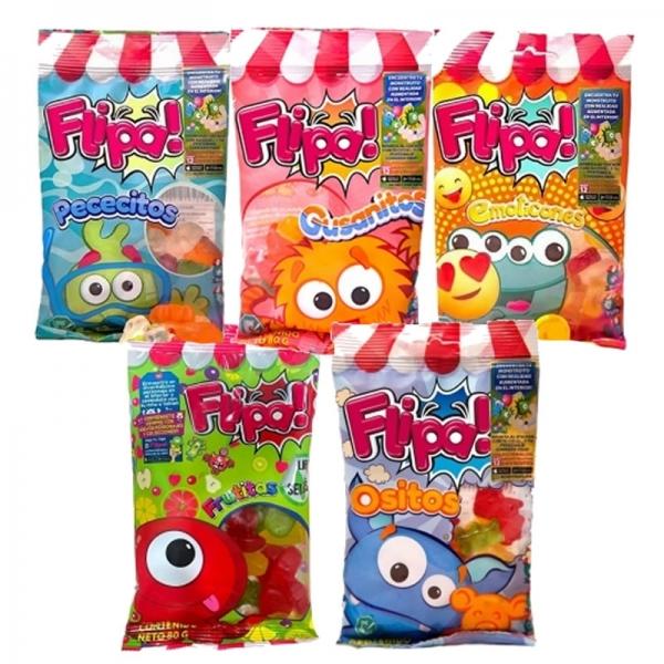 Pack Gominolas Flipa (5 paquetes)