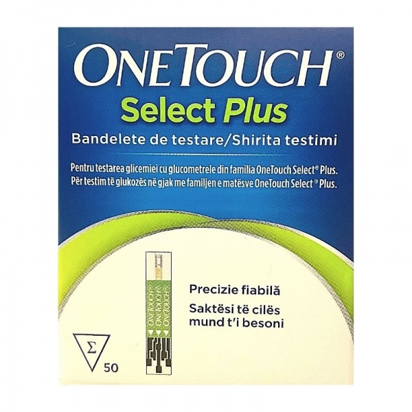 OneTouch Select Plus - Tiras Reactivas
