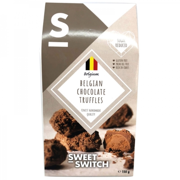 Trufas de chocolate belga - Sweet Switch