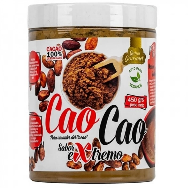 Cacao puro desgrasado 450g - CaoCao Protella
